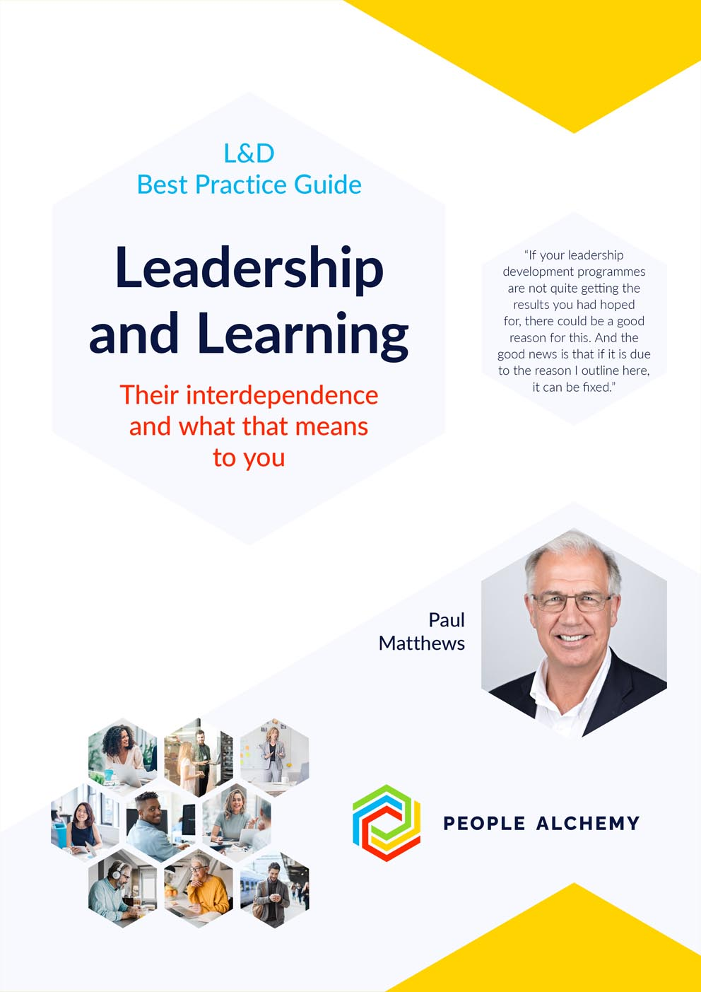 Leadership and Learning: What their interdependence means